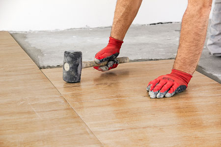 Installation Instructions, From Most Major Flooring Manufacturers,  Reference ASTM Standard F 710 For Hard Surface Resilient Flooring.