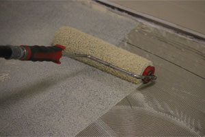 back-rolled-adhesive-application