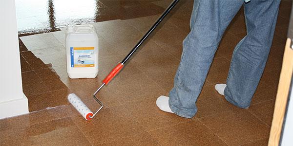 Dr Schutz Waxnomor Floor Finish Application