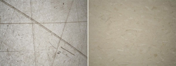 Before - After Photos of Floor Finished with Dr Schutz Waxnomor